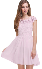 Pink Crochet Dress - StyleCracker