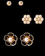 Ladylike Flower Stud Set - StyleCracker