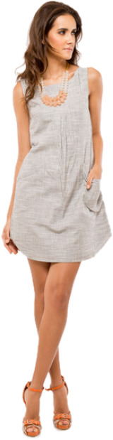 Grey Dress Tunic - StyleCracker