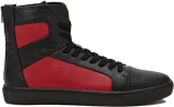 Zippered High-Top Sneakers - StyleCracker