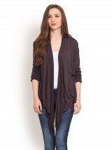 Women Grey Shrug - StyleCracker