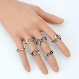 Turkish Silver Mid Finger Rings - StyleCracker