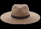 Wide-Brim Straw Fedora - StyleCracker