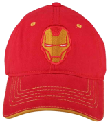 Ironman Red Cap - StyleCracker