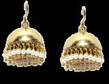Classic Gold Jhumki Earrings - StyleCracker