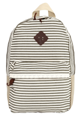Baggabond Cotton Twill Back Pack BGCB0001 - StyleCracker