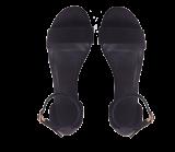 Black Boat Heels - StyleCracker