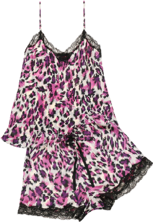 "PrettySecrets Purple Vivid Vicious ""Ultimate Lounge"" Cami & Shorts Set - StyleCracker"