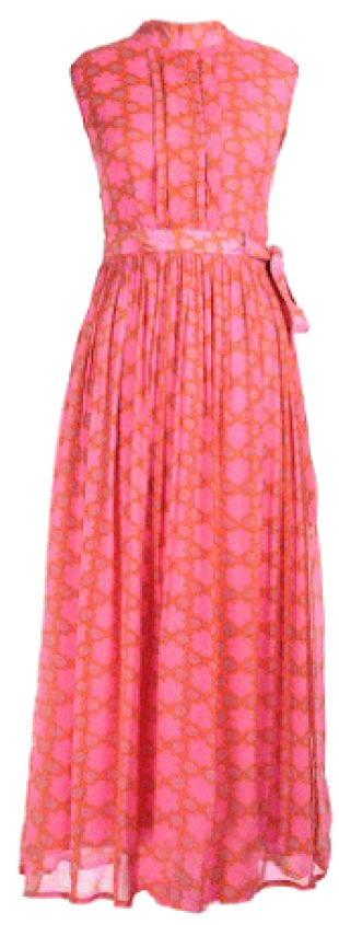 Printed Maxi Gown - StyleCracker