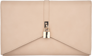 Beige Goldilocks Clutch - StyleCracker