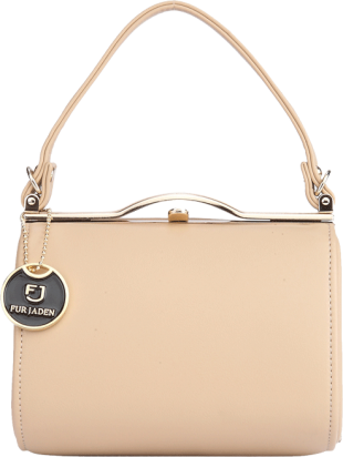 Mini Barrel Beige Sling - StyleCracker