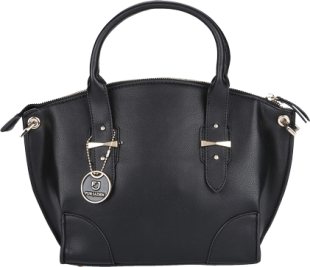 Black Winged Hand Bag - StyleCracker