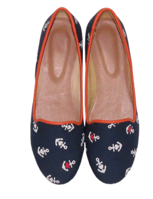 Anchor Ballerinas - StyleCracker