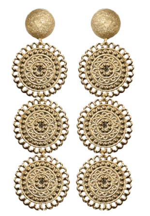 The Baroque Beauty Earrings - StyleCracker