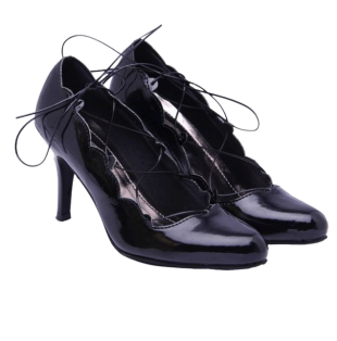 Black Court Shoe - StyleCracker