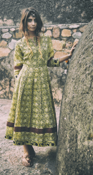 Vintage flora dress - StyleCracker