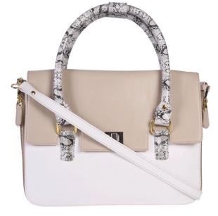 Sophie Box Sling White - StyleCracker