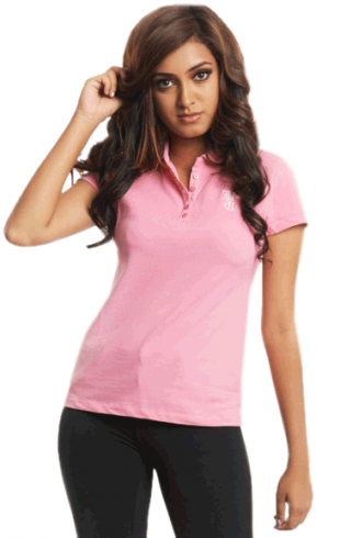 Short Sleeves Polo T-shirt Pink - StyleCracker