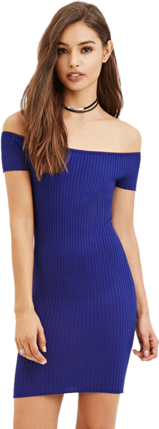 Off-the-Shoulder Bodycon Dress - StyleCracker