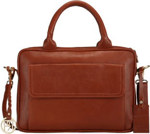 Leather Laptop Bag - PR1037 - StyleCracker
