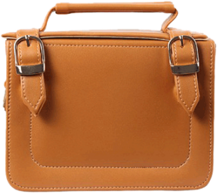 Tan Briefcase Sling - StyleCracker
