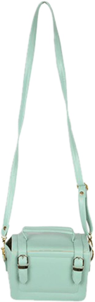 Mint Green Briefcase Sling - StyleCracker