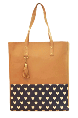 Crazy Heart Tote - StyleCracker