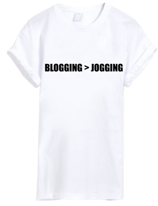 Blogging Jogging - StyleCracker