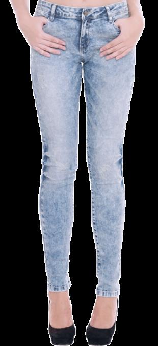 Acid Wash Skinny Jeans - StyleCracker