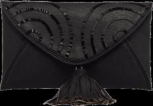 Black Envelop Clutch - StyleCracker