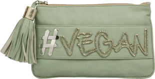 Mint Hashtag Clutch - StyleCracker