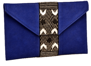 Blue Beaded Clutches - StyleCracker