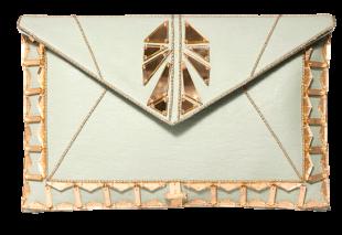 Beaded Clutches-Mint Green - StyleCracker