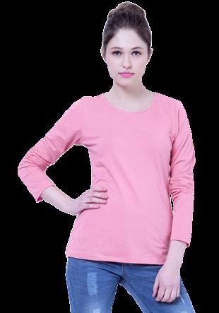Basics Pink  Perf Jersey Tee - StyleCracker