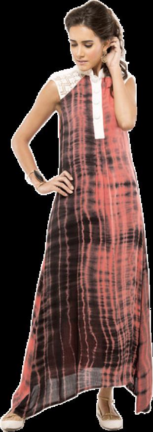 Shibori - Fuschia Pop Dress - StyleCracker