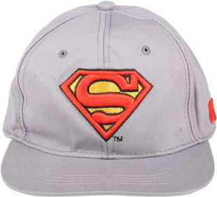 Superman Grey Cap - StyleCracker