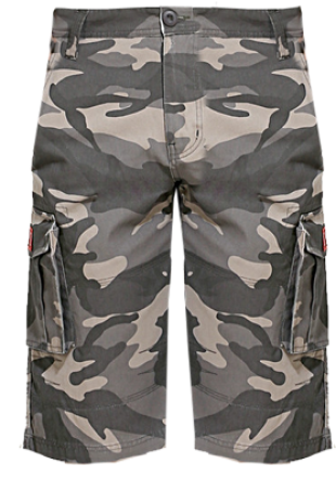 London Bee Printed Mens 3/4 Cargo MSLB0033 - StyleCracker