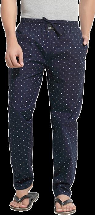 London Bee Mens Cotton Wheel Print Pyjama/ Lounge Pant  MPLB0046 - StyleCracker