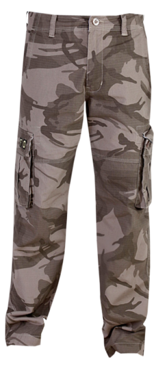London Bee Army Print Cargo Pant MFPLB0001 - StyleCracker