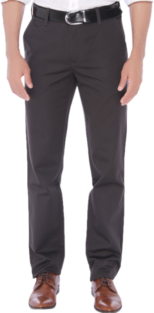 JadeBlue Charcoal Gray Casual Trouser - StyleCracker