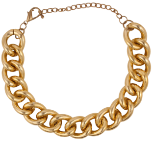 Chain Of Events Gold Anklet - StyleCracker