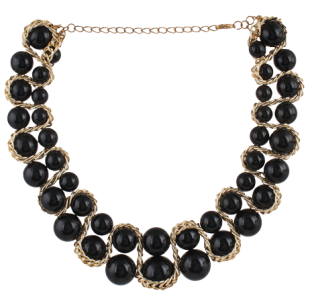 Black Swan Pearl Necklace - StyleCracker