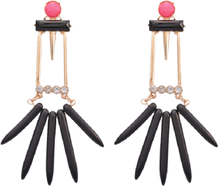 Pink Lady Earring - StyleCracker