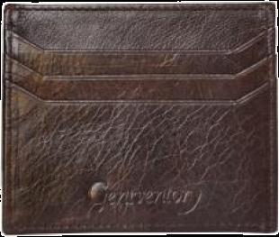 Chocolate Brown  Credit CardHolder - StyleCracker