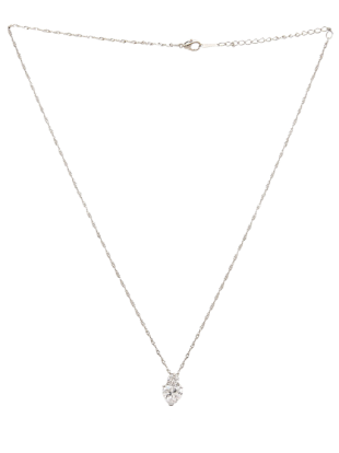American Diamond Stone Alloy Necklace - StyleCracker