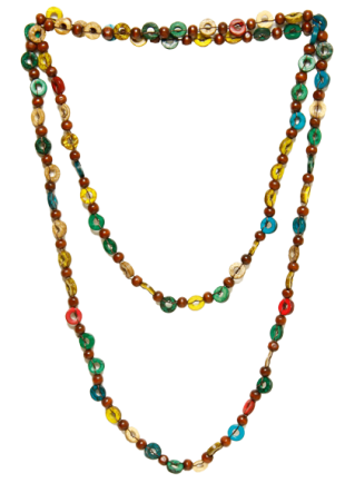 Trend Arrest Multicolor Wood Chain Necklace for Women - StyleCracker