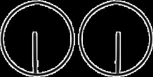 Black Round About Earrings - StyleCracker