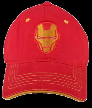 Ironman Red Cap - StyleCracker