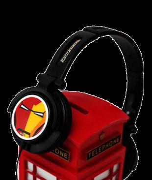 Ironman Headphone With Mic - StyleCracker