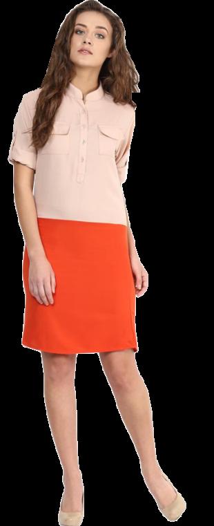 How It Flows Shirt Dress - StyleCracker